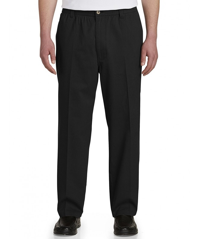 Harbor Bay Elastic Waist Twill Pants