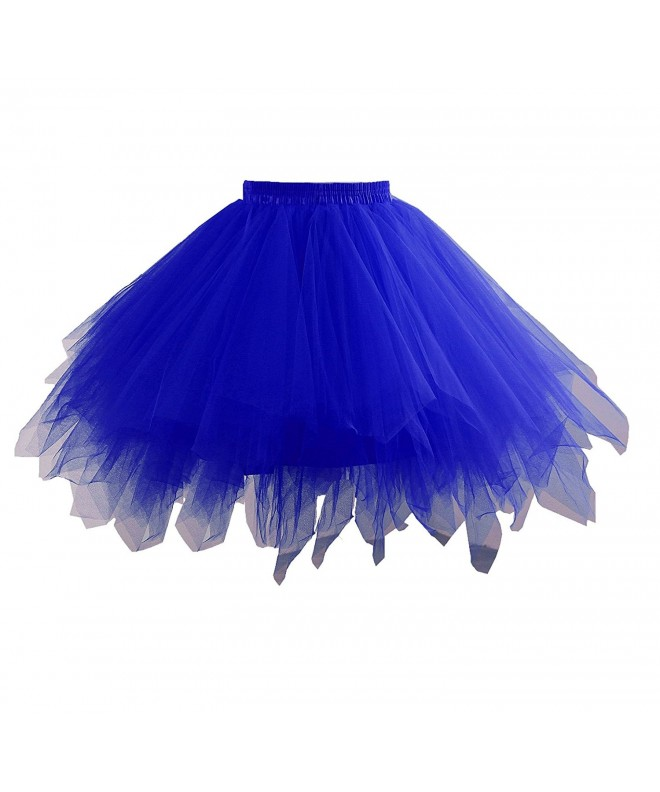 Yinyyinhs Petticoat Multi Colored Pettiskirt Medium