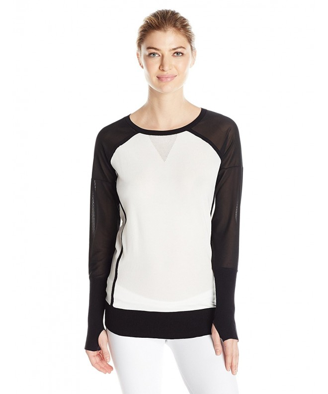 Blanc Noir Womens Sweater White