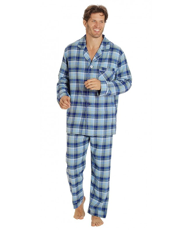 EVERDREAM Sleepwear Flannel Pajamas Cotton