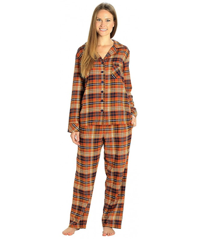EverDream Sleepwear Womens Flannel Pajamas
