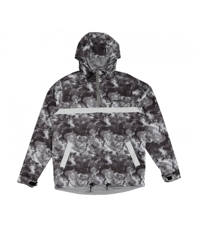 SUPERbrand Burnside WindbreakerJacket Black Cloud