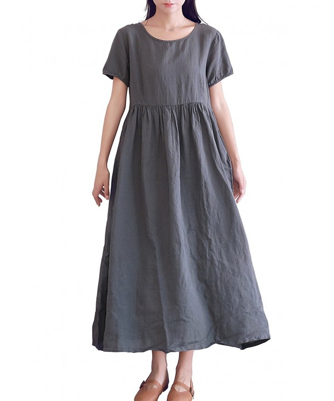 LifeShow Womens Casual Dresses Pockets