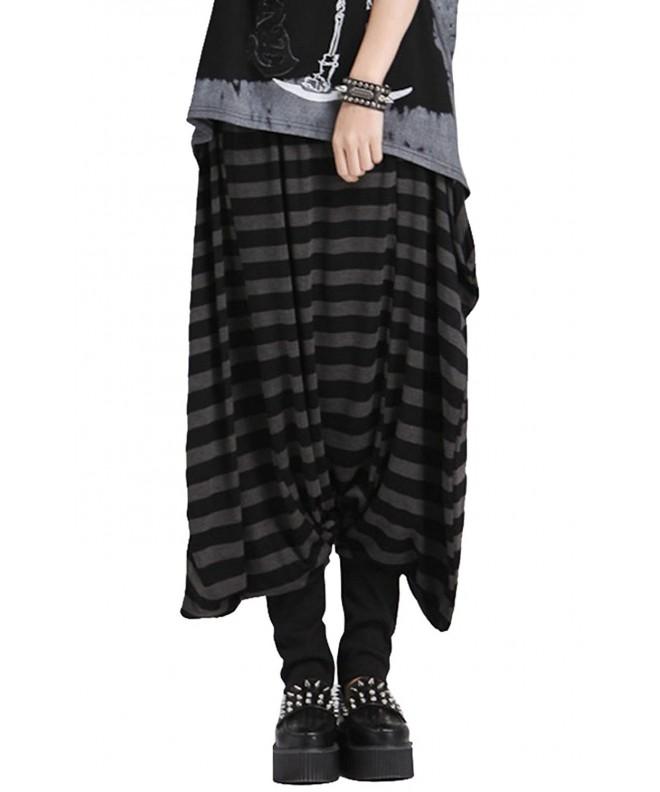 ELLAZHU Horizental Trouser Onesize GY104