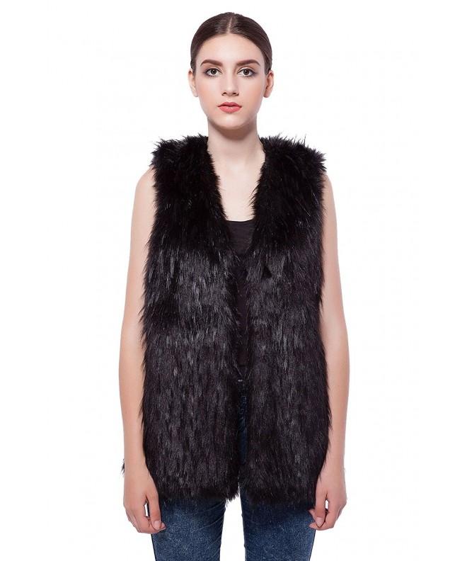 JollyChic Womens Length Sleeveless Waistcoat