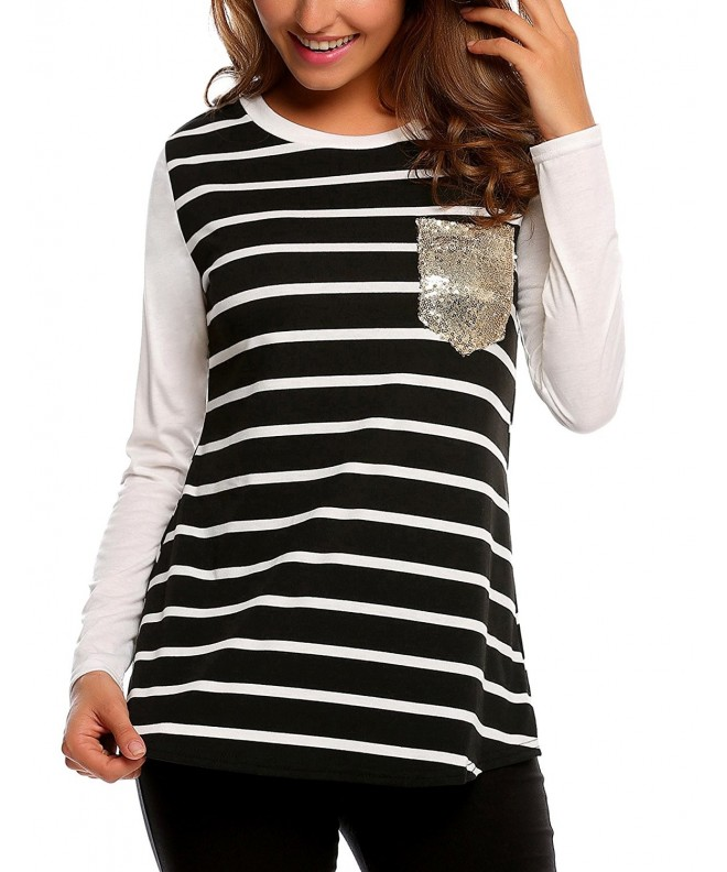 Easther Lightweight Striped T Shirt X Large