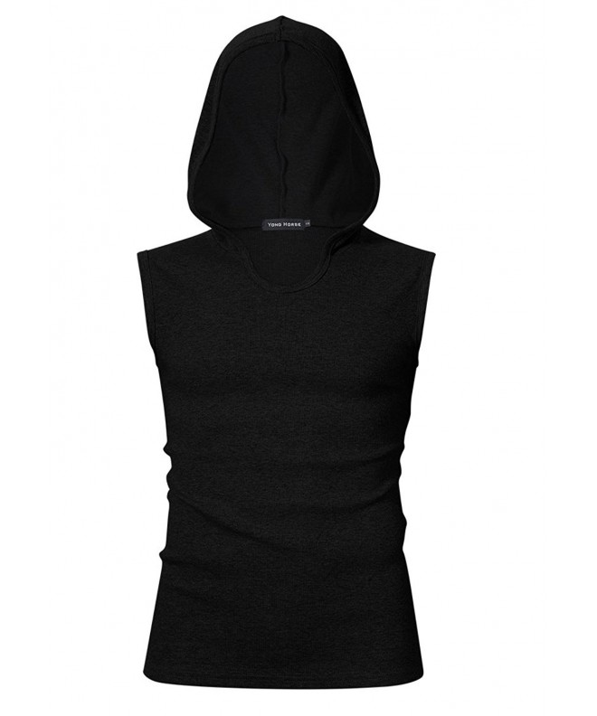Yong Horse Cotton Sleeveless Hoodies