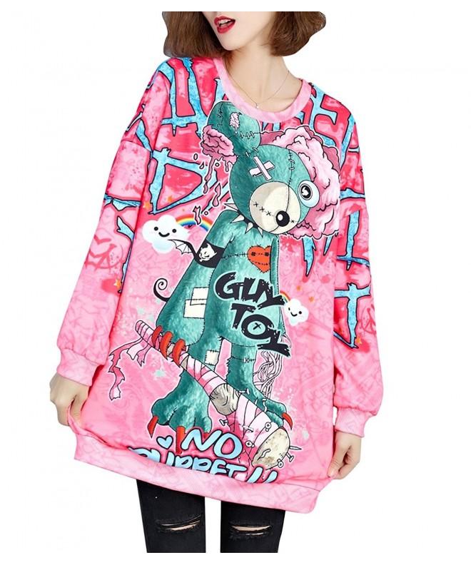 ELLAZHU Women Fashion Sweatshirt GA1053