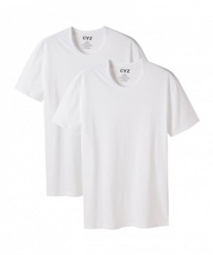 CYZ Cotton Stretch Fitted T Shirt White M