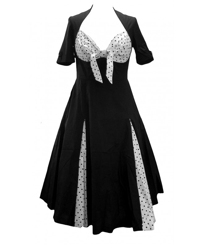 Sweetheart Rockabilly Jive Bunny Dress