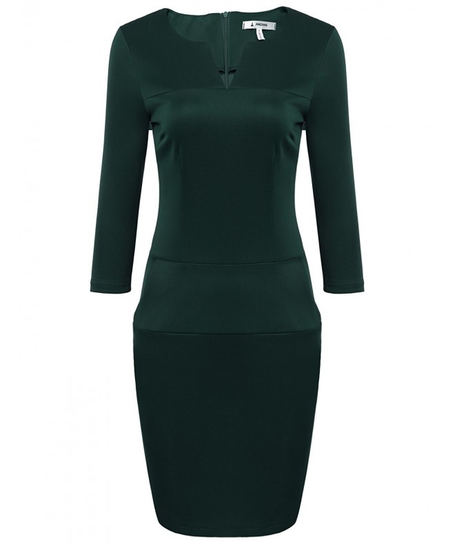 ANGVNS Women Cocktail Bodycon Pencil