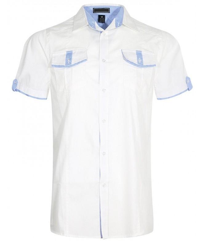 UPSCALE Short Sleeve Button Shirt