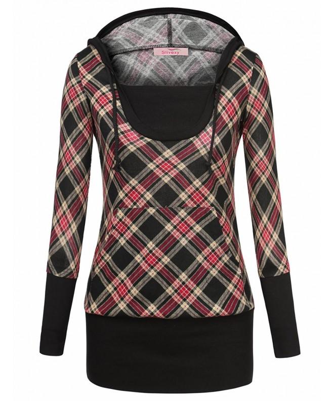 Slivexy Sweatshirt Pullover Lightweight X Large