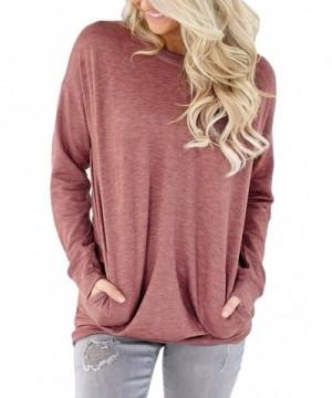 Qlassic Casual Sleeve Sweatshirt Blouses