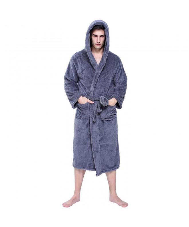 jaaytct Womens Fleece Winter Bathrobe