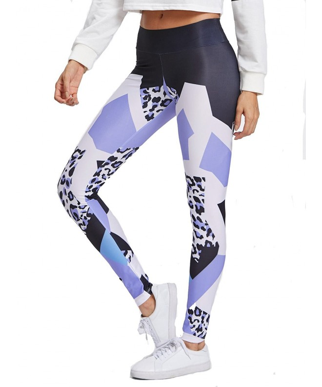 Verdusa Printed Stretchy Slimming Leggings