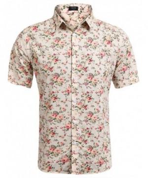 JINIDU Floral Print Button Sleeve