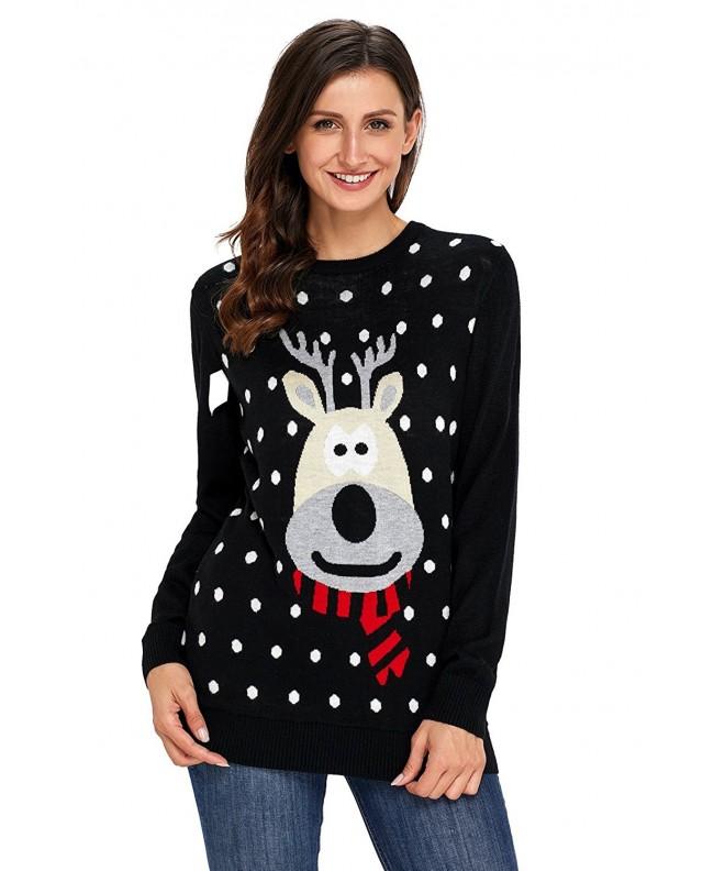 HUUSA Christmas Reindeer Snowflakes XL