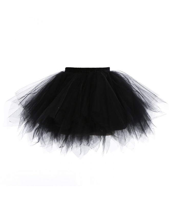 Suroomy Petticoat Multi Layer Crinoline Underskirt