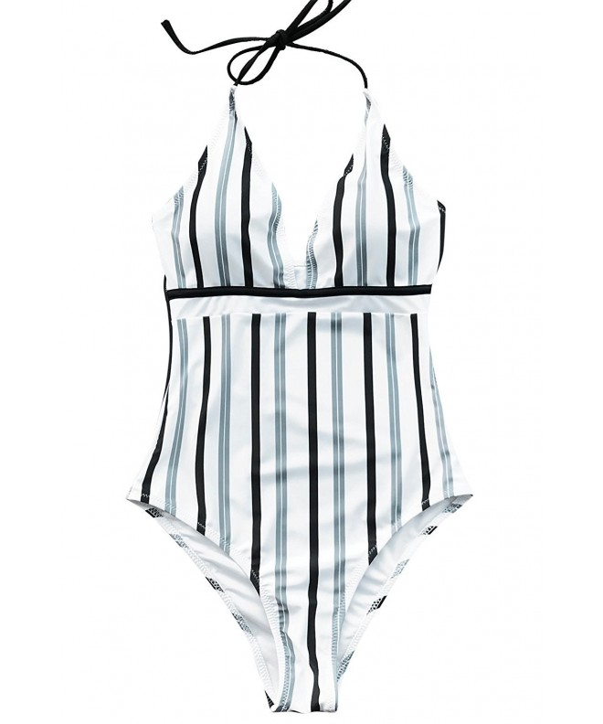 Cupshe Iceandsnow One Piece Swimsuit Swimwear