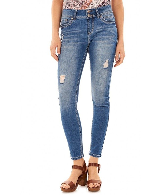 WallFlower Juniors Luscious Skinny Jeans