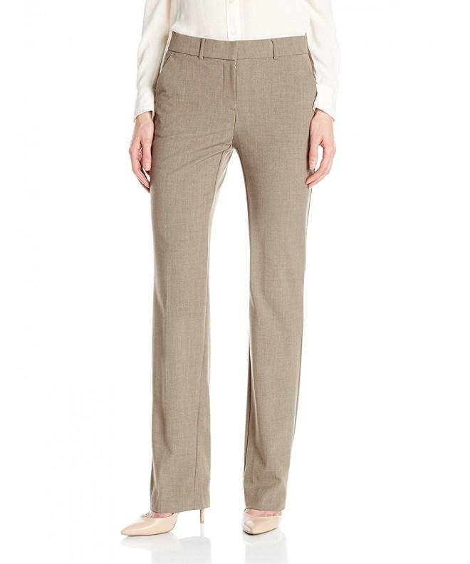 Napa Valley Straight Trouser Average Heather