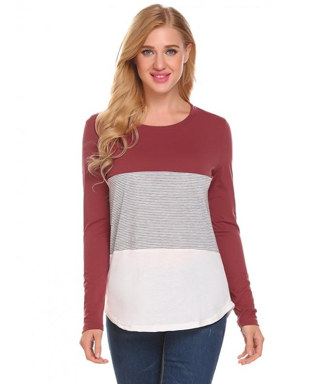 Unibelle Womens Sleeve Casual Shirts