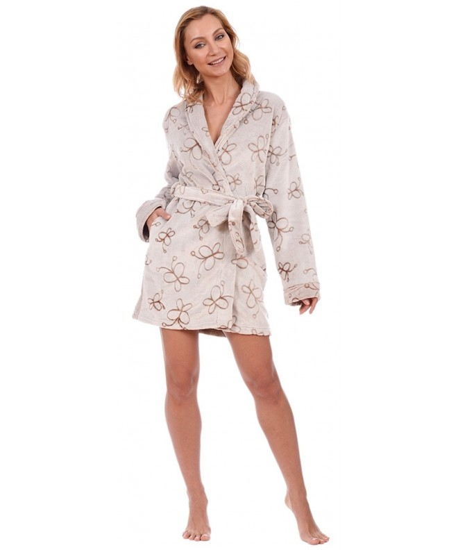 Body Candy Womens Sherpa Lined Butterfly