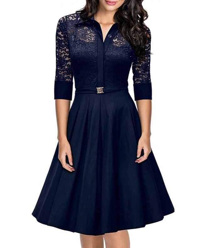 Destinas Women Vintage Sleeve Evening