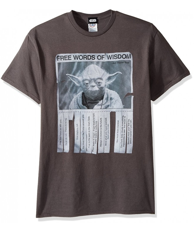 Lucas Wisdom T Shirt Charcoal X Large