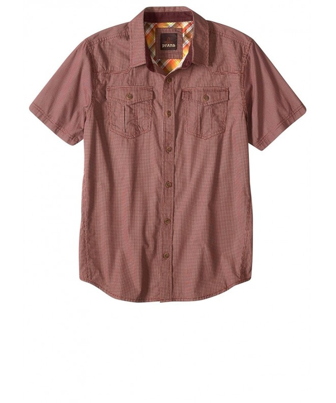 prAna Borla Raisin Button up Shirt