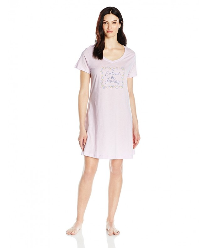 Carole Hochman Womens Cotton Sleepshirt