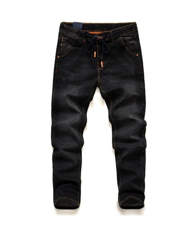 Jeans Mens Plus Size Stretchable