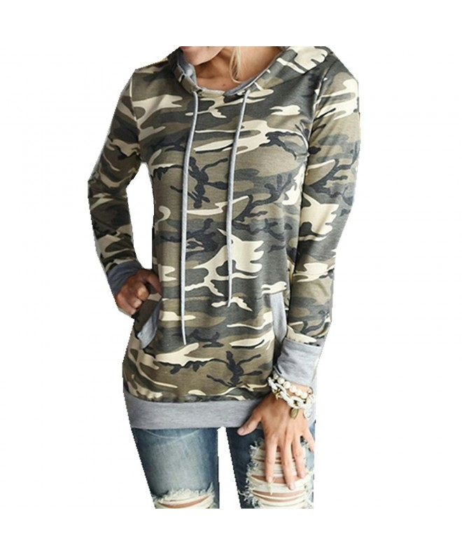 Taiduosheng Camouflage Pullover Sweatshirt 43 5inch