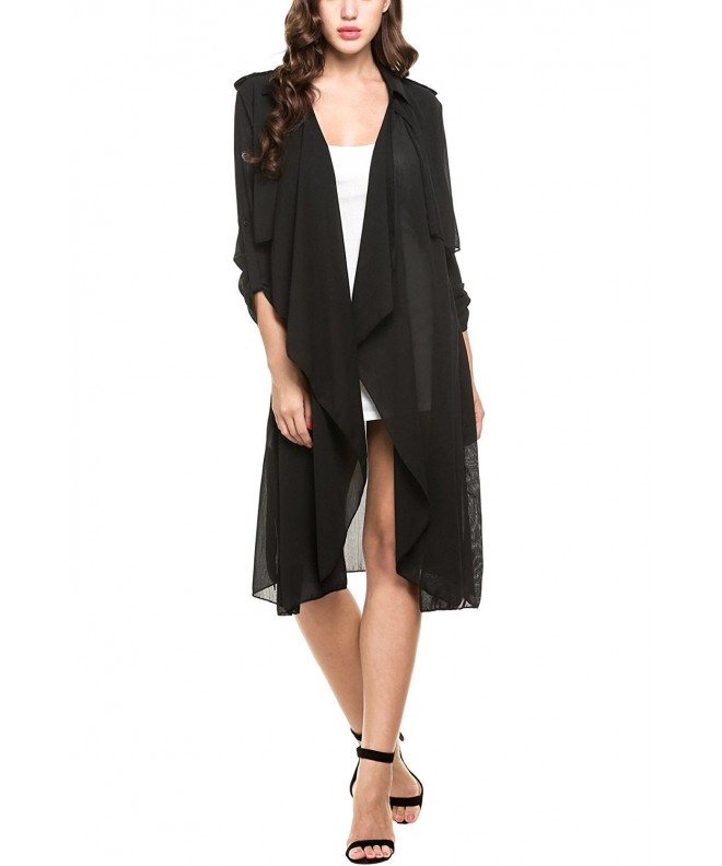 Zeagoo Casual Sleeve Trench Cardigan
