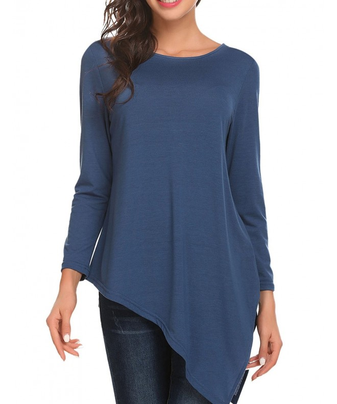 Unibelle Womens Casual Pullover Asymmetric