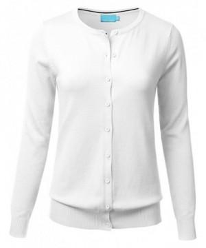 FLORIA Button Sleeve Cardigan Sweater