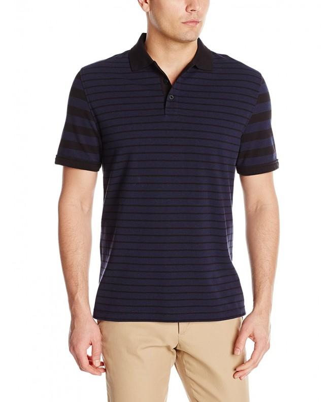 Nautica Multi Stripe Shirt Black Medium