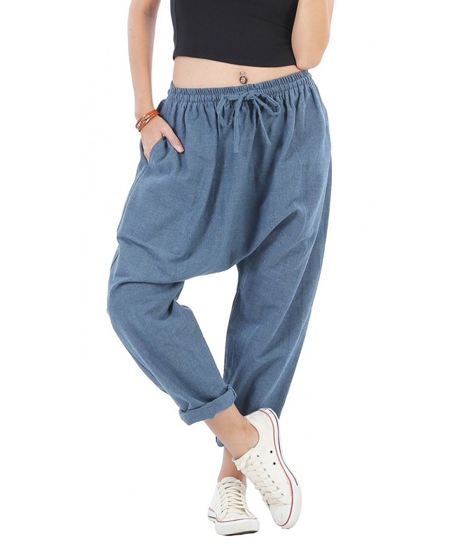 CandyHusky Natural Cotton Joggers Hippie