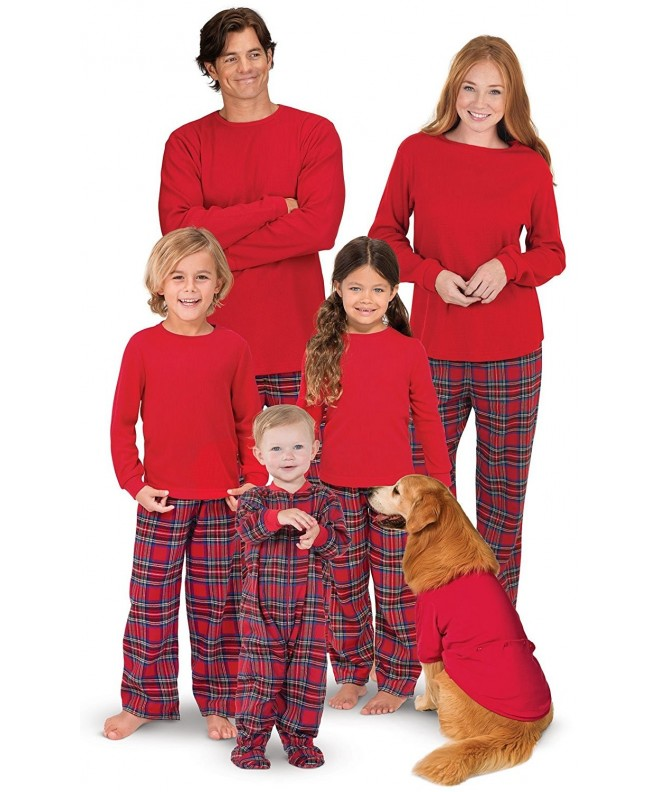 PajamaGram Flannel Matching Family Christmas