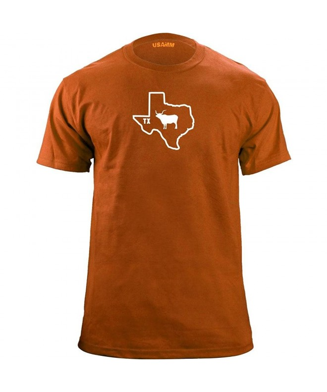 Original Longhorn Classic T Shirt Orange Variant