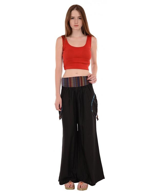 Rayon Plazzo Pant Trouser Pockets