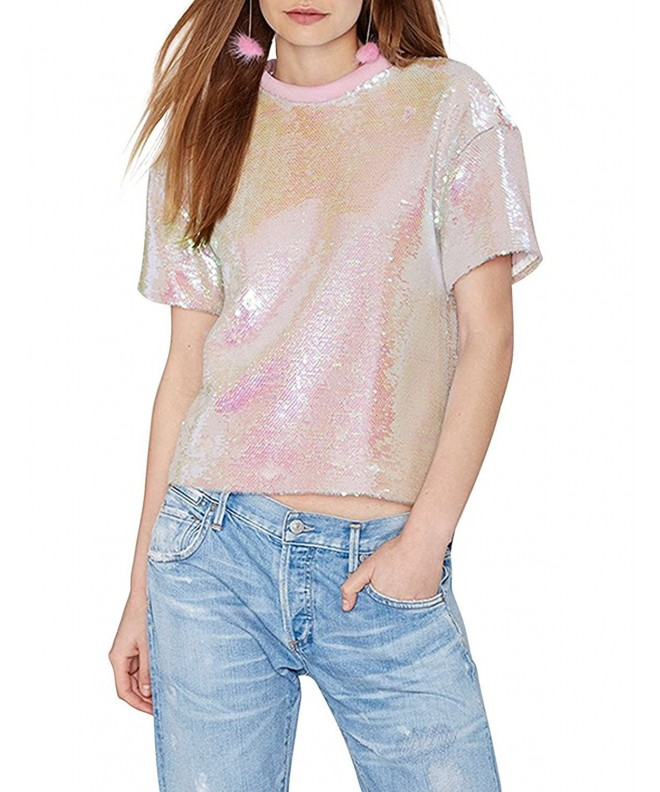 Richlulu Womens Sweet Mermaid Sequin