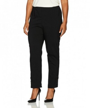 SLIM SATION Womens Waist Solid Ankle