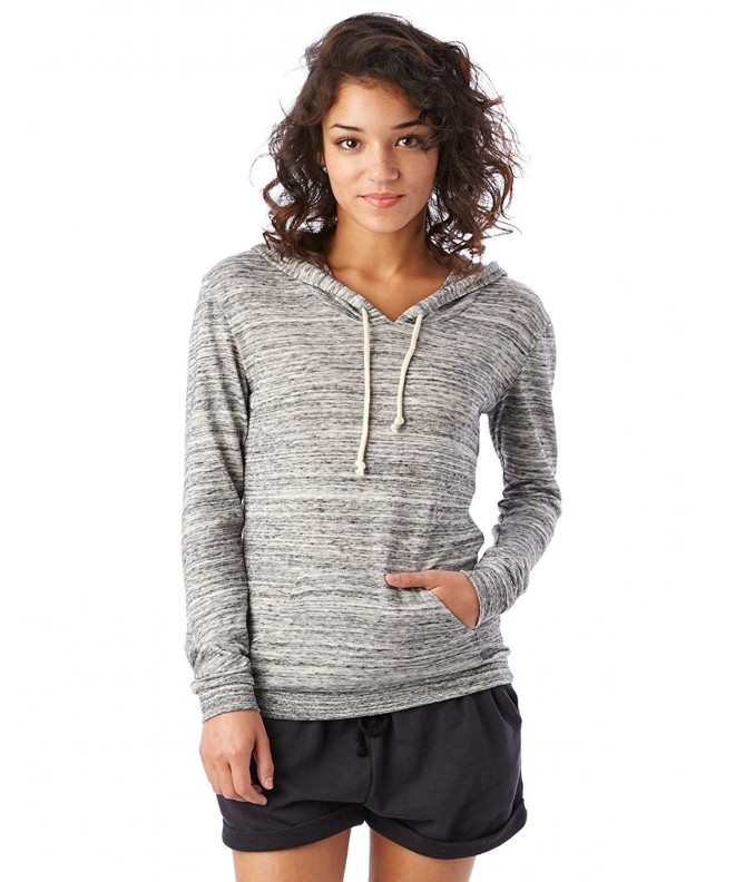 Alternative Womens Classic Pullover Sweatshirt