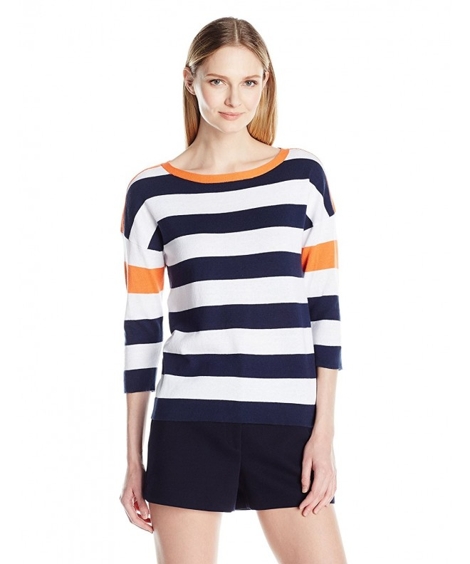 Sag Harbor Womens Sleeve Pullover