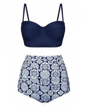 EasyMy Vintage Flounce Padded Bikini