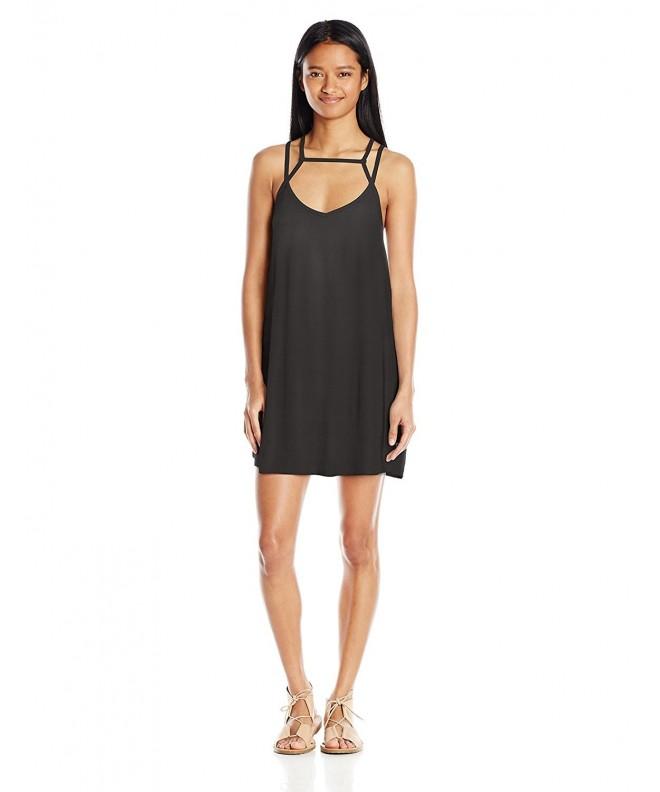 RVCA Juniors Zavey Dress black