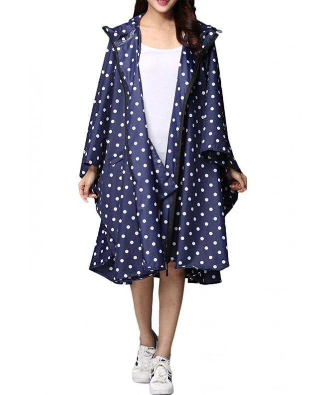LINENLUX Stylish Waterproof Raincoat Windbreak