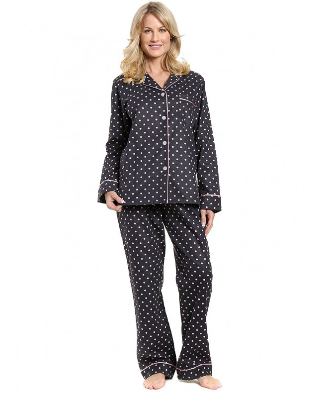Noble Mount Womens Flannel Sleepwear